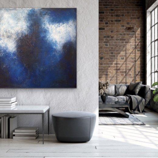 Blue Shadows - Home Interior | AlessandraViola.co.uk
