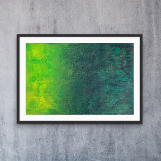 Emerald Glow - Print | AlessandraViola.co.uk