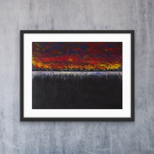 Sunset - Print | AlessandraViola.co.uk