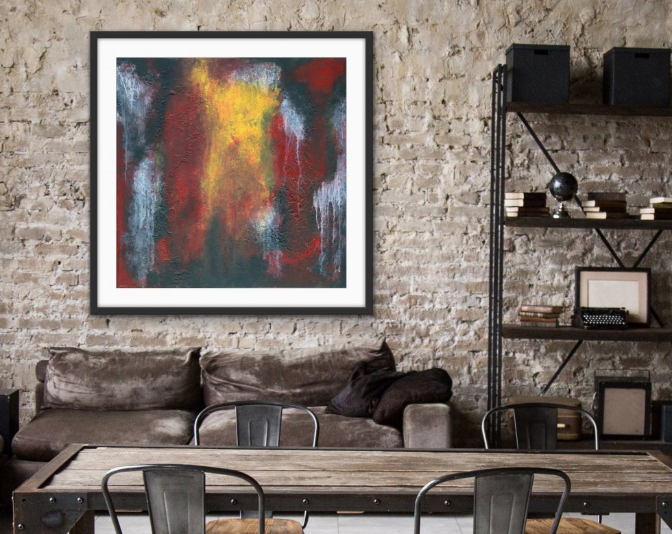 Coloured Dust - Print - Home Interior   AlessandraViola.co.uk