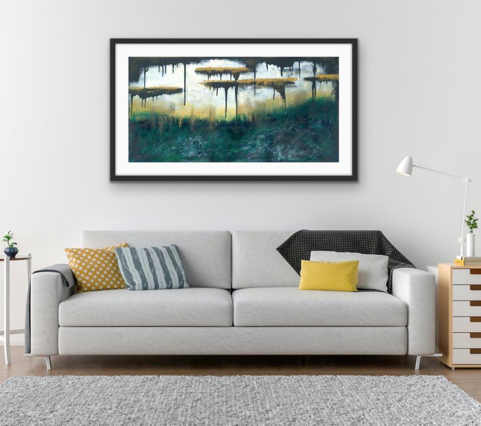 Golden Escape - Print - Home Interior   AlessandraViola.co.uk