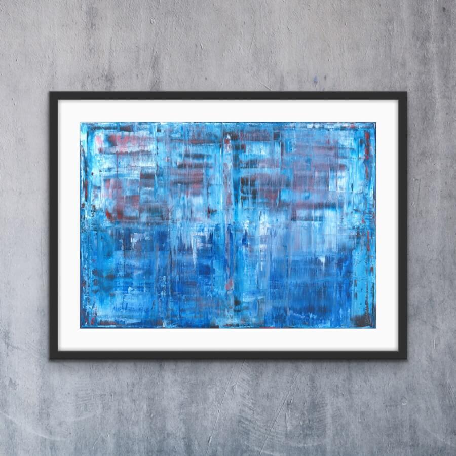 Blue - Print | AlessandraViola.co.uk