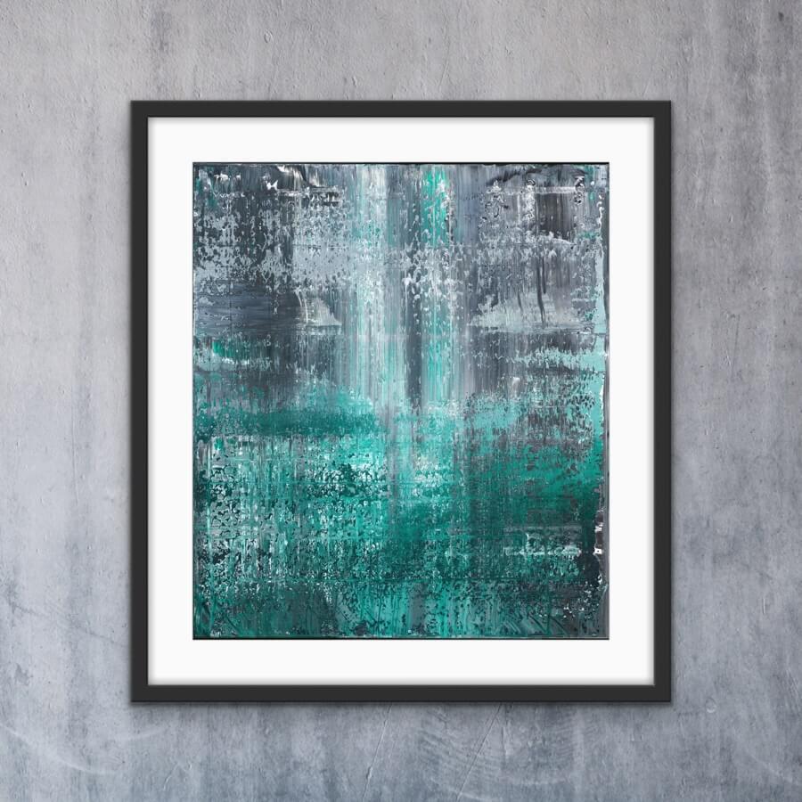 Green Dots - Print   AlessandraViola.co.uk