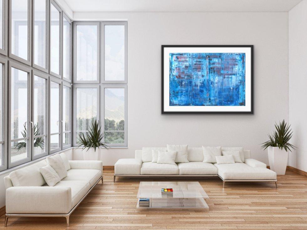 Blue - Print - Home Interior | AlessandraViola.co.uk