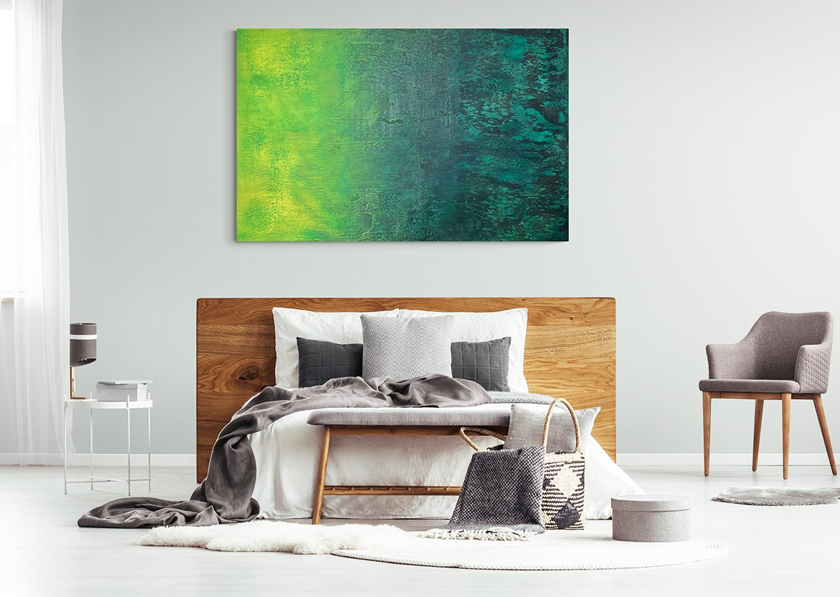 Turn Your Bedroom into a Sanctuary with a Large Commissioned or Original Artwork | AlessandraViola.co.uk